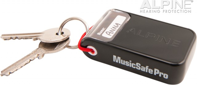 MusicSafe Pro box with keys