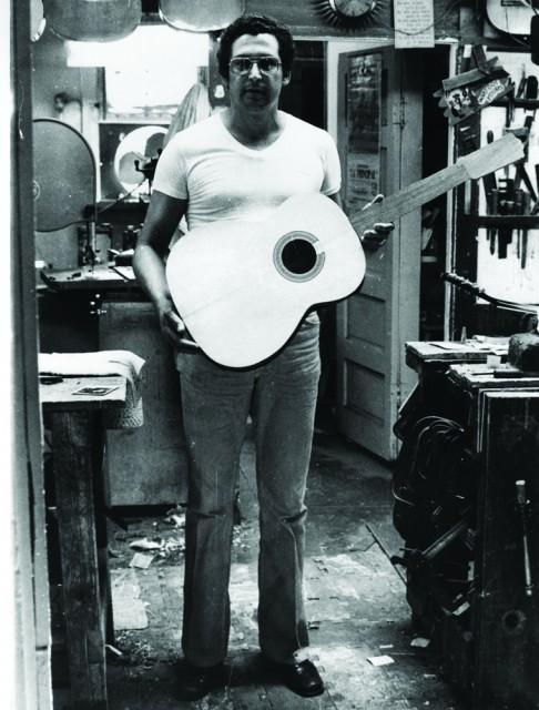 Candelario Delgado Flores,摄于1971 年