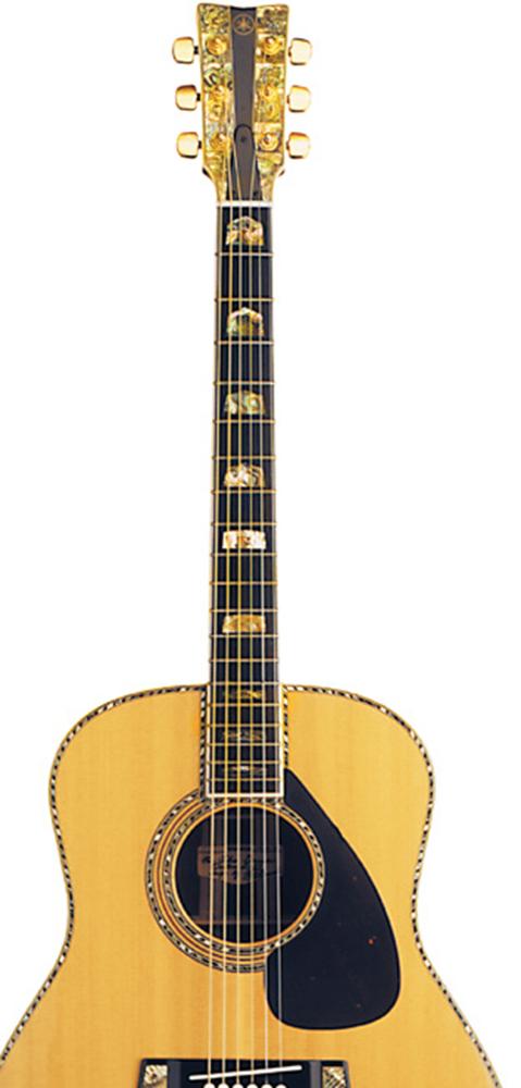 [AG杂志]John Denver 奢华的1978Yamaha L-53吉他  AG272