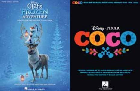 [2018NAMM展会]音乐出版商Hal Leonard 出版了《寻梦环游记Coco》和《雪宝Olaf》歌曲集