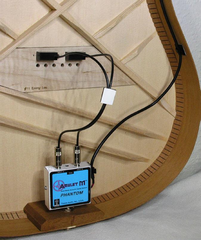 [AG杂志]Trance Amulet M Phantom拾音系统 | 幻象电源无需电池  AG295