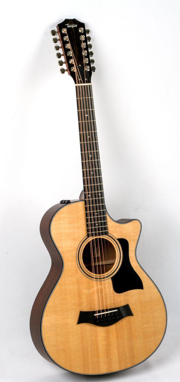 [AG品鉴]两把适合所有乐手并带有独特音色特征的小琴体12 弦吉他Taylor 352ce and 362ce 12-Strings Taylor 12 弦 352ce 及362ce  AG301