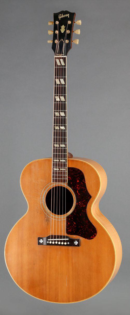 [AG品鉴]一把富有优美音色的优质J 型琴 1956 Gibson J-185 AG301