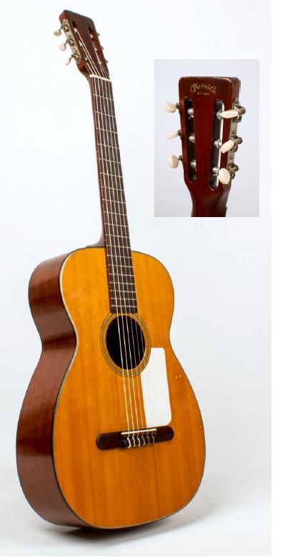 [AG杂志]一把母子相传,鲜少人知1958 Martin 00-18G尼龙弦吉他 AG302