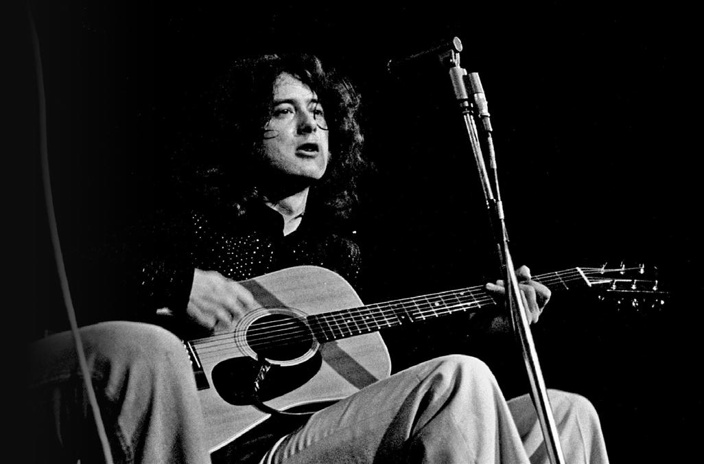 [AG资讯]Jimmy Page 向Led Zeppelin乐队的传奇吉他手学习开放G滑弦 AG304