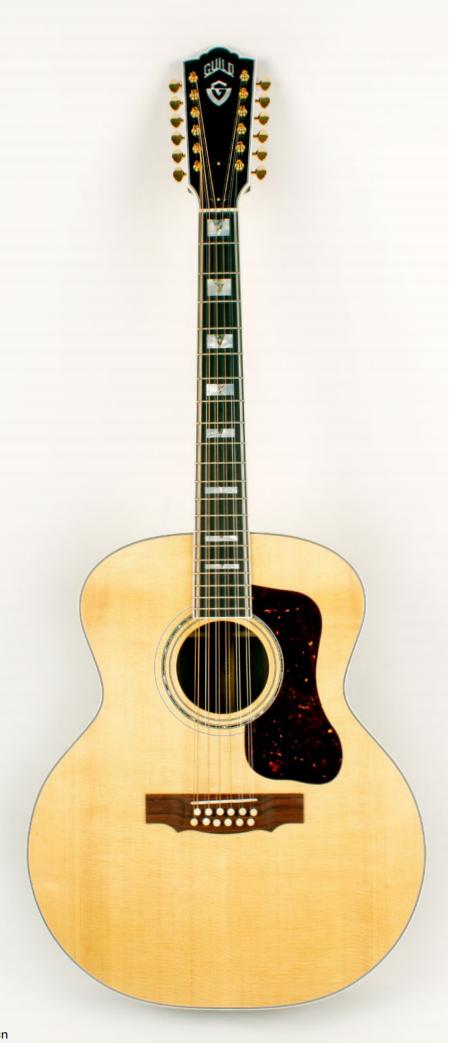 [AG新品]万众期待:Guild重新推出旧款十二弦吉他Guild F-512