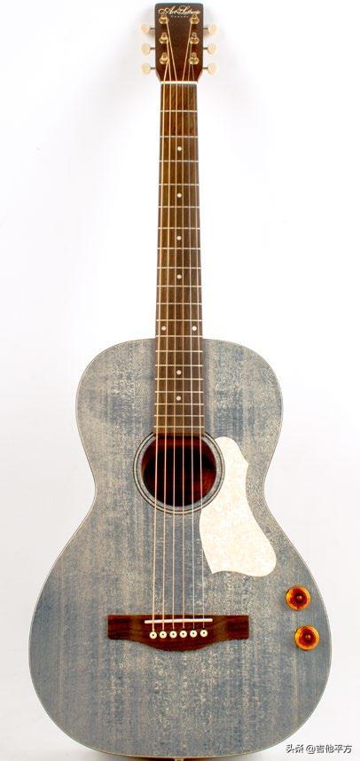 「AG新品」Q-Discrete客厅吉他 | 适合旅行携带的牛仔蓝布鲁斯吉他