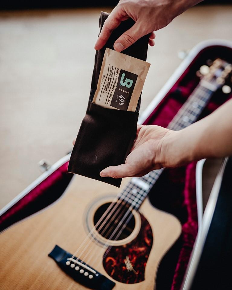Boveda双向均衡恒湿带,吉他保湿四季无忧。