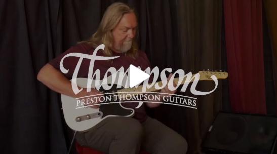 Paul Heumiller试弹汤普森电吉他Thompson TSM-52