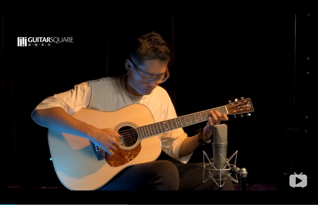 美国Thompson汤普森 1937 D型 阿迪朗达克 巴西紫檀 手工吉他 By 吴迪