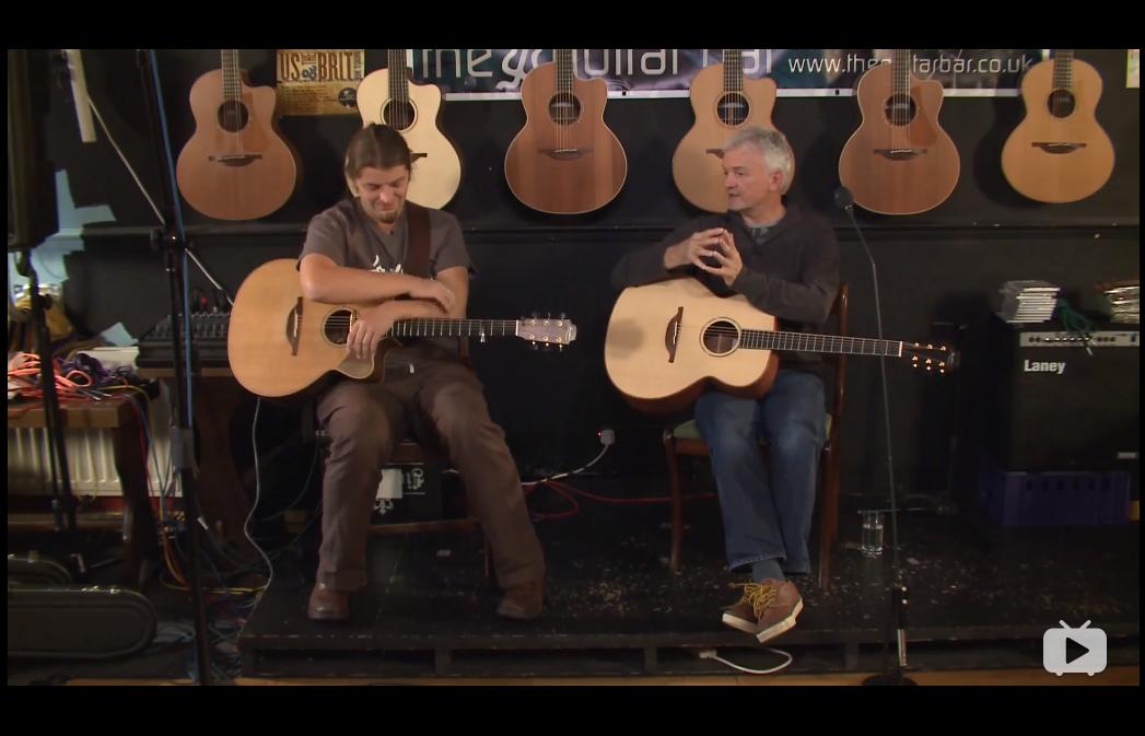 [吉他平方2019修正版]Lowden吉他创始人George Lowden谈吉他设计