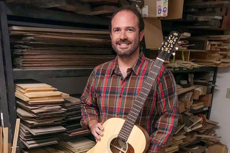 「AG专访」追求卓越的Iris Guitar品牌制琴师Adam Buchwald
