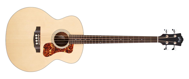 [AG新品]两款原声低音吉他:Guild B-240E与Jumbo Junior Basses