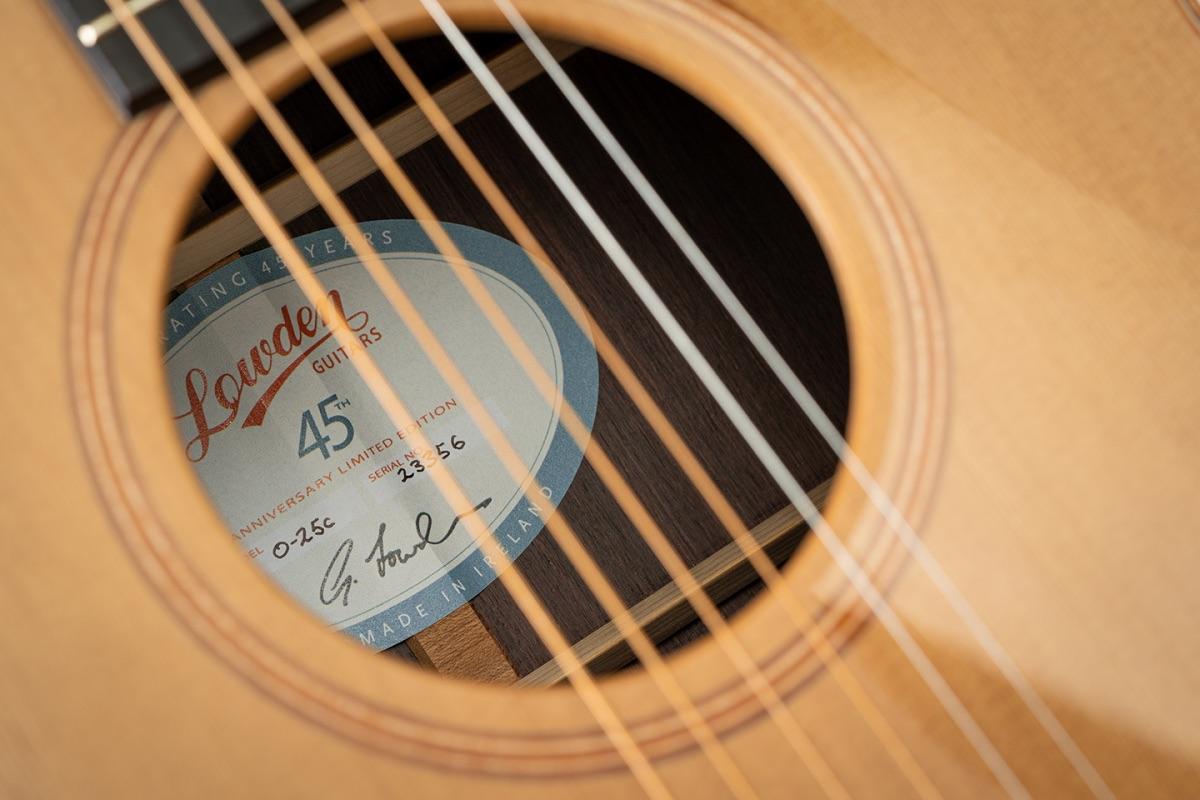 Lowden Guitars为庆祝45周年,特推出全球限量系列