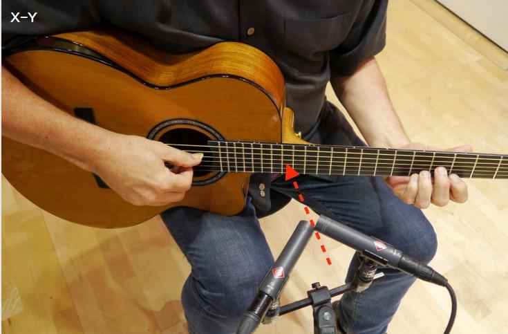 原声吉他家庭录音之麦克风摆放位置