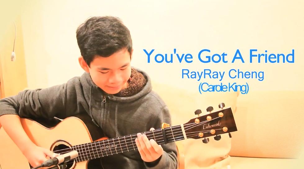 [Lakewood吉他]郑叙呈RayRay Cheng吉他指弹You've Got A Friend!