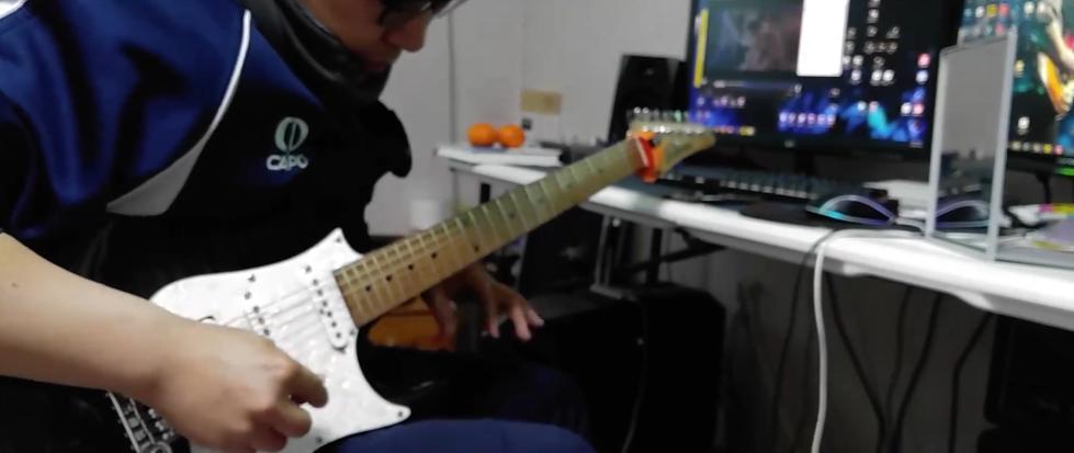 「40+上班族」电吉他每天练习2小时 1年的成果展示