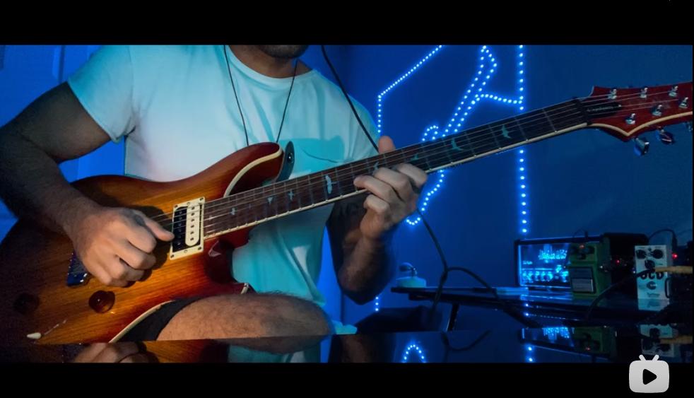 Eric Clapton – Wonderful Tonight电吉他翻弹 By The Singing Guitar