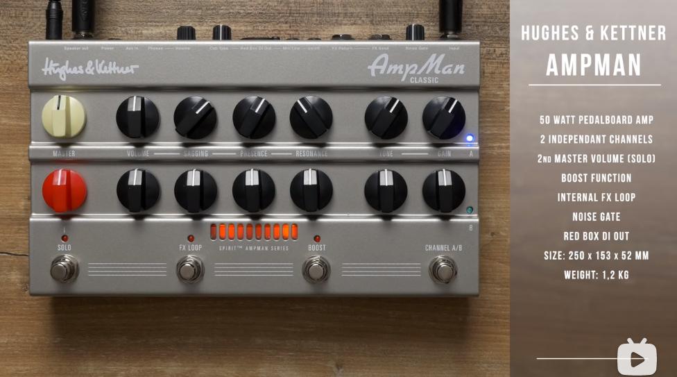 Hughes & Kettner「AmpMan音箱侠」Classic古典款 & Modern现代款 – 音效展示
